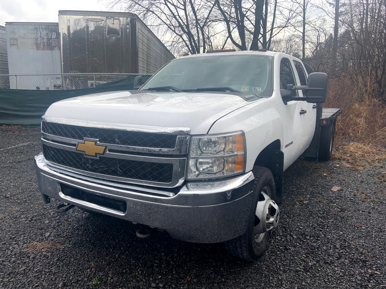 Chevrolet 3500 Work Truck Crew Cab Long Box 4WD 2012