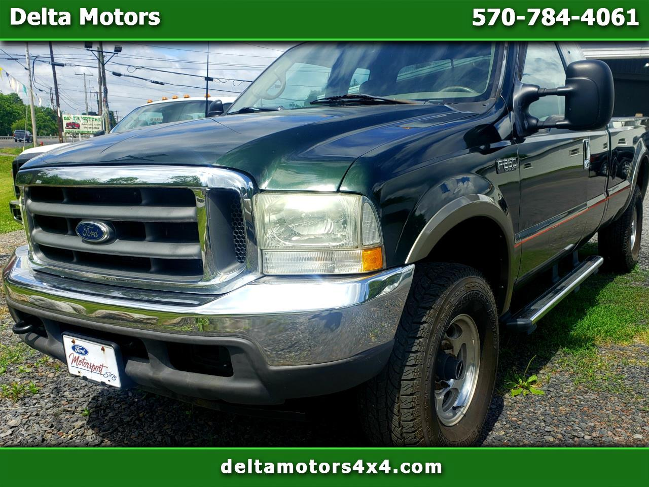 "Ford F-250 SD Supercab 158"" XL 4WD 2002"