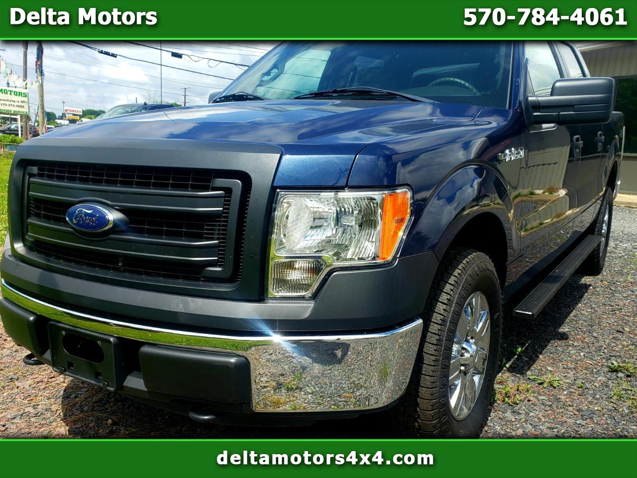 "Ford F-150 4WD SuperCrew 145"" XL 2013"