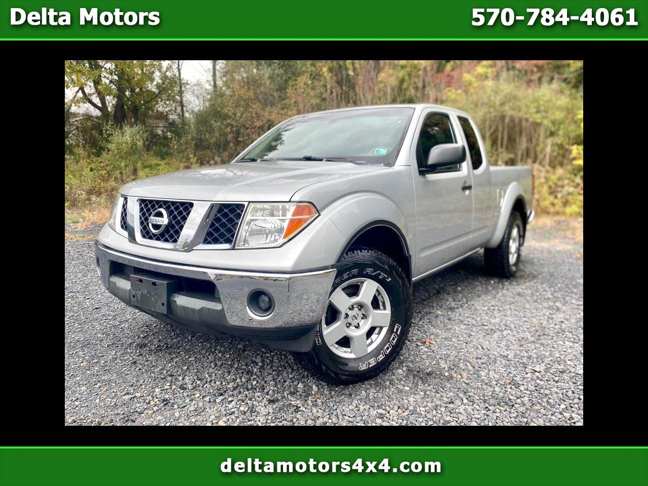 Nissan Frontier SE King Cab V6 Auto 4WD 2006