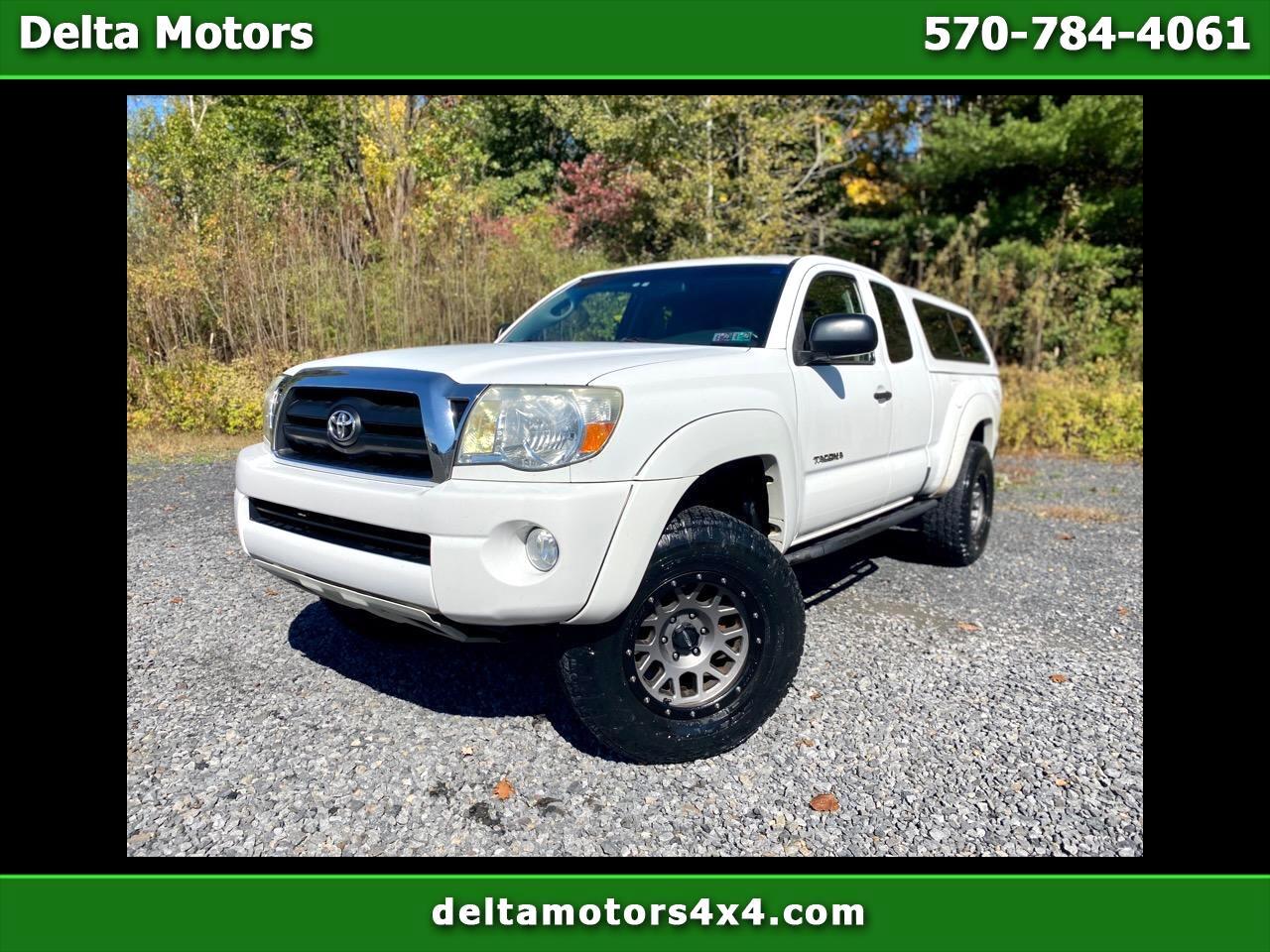 """Toyota Tacoma Access 128"""" V6 Manual 4WD (Natl) 2006"""