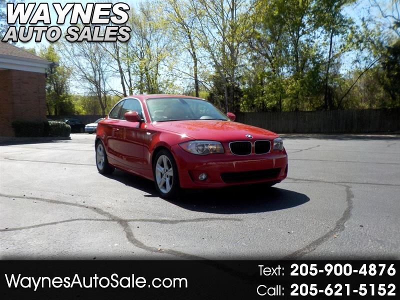 2012 BMW 1-Series I