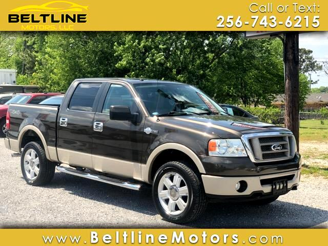 2008 Ford F-150 King Ranch SuperCrew 6.5-ft. Bed 4WD