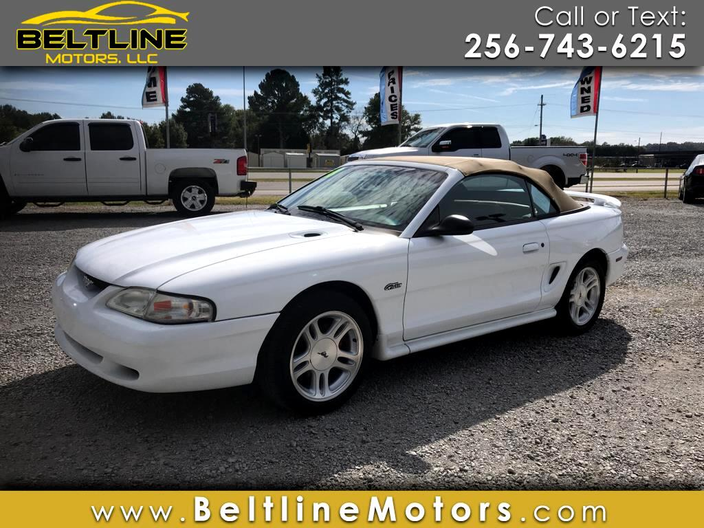 1998 Ford Mustang 2dr Convertible GT