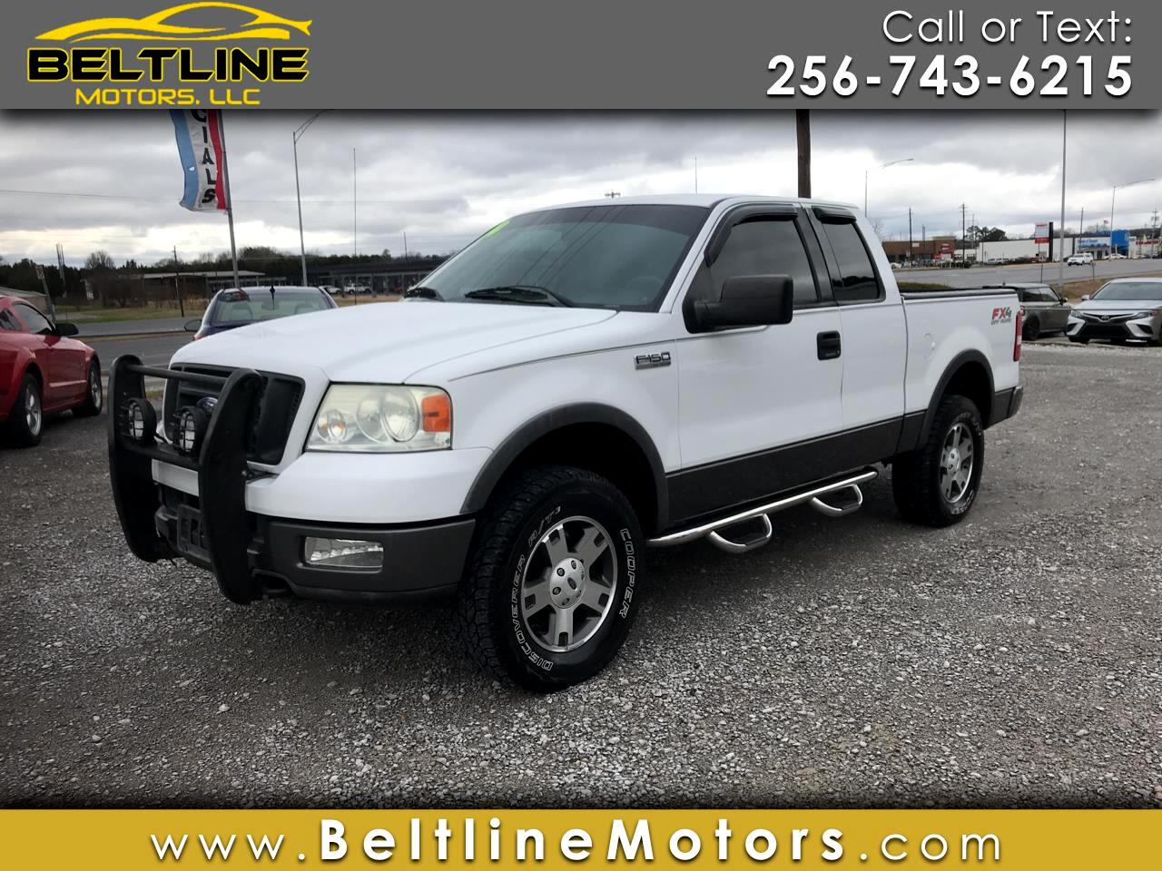 """2004 Ford F-150 Supercab 145"""" Lariat 4WD"""