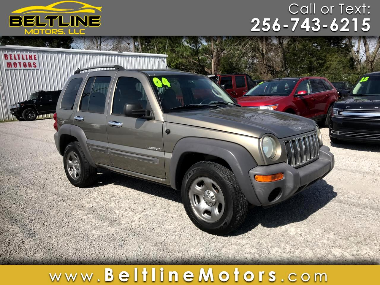 2004 Jeep Liberty 4dr Sport