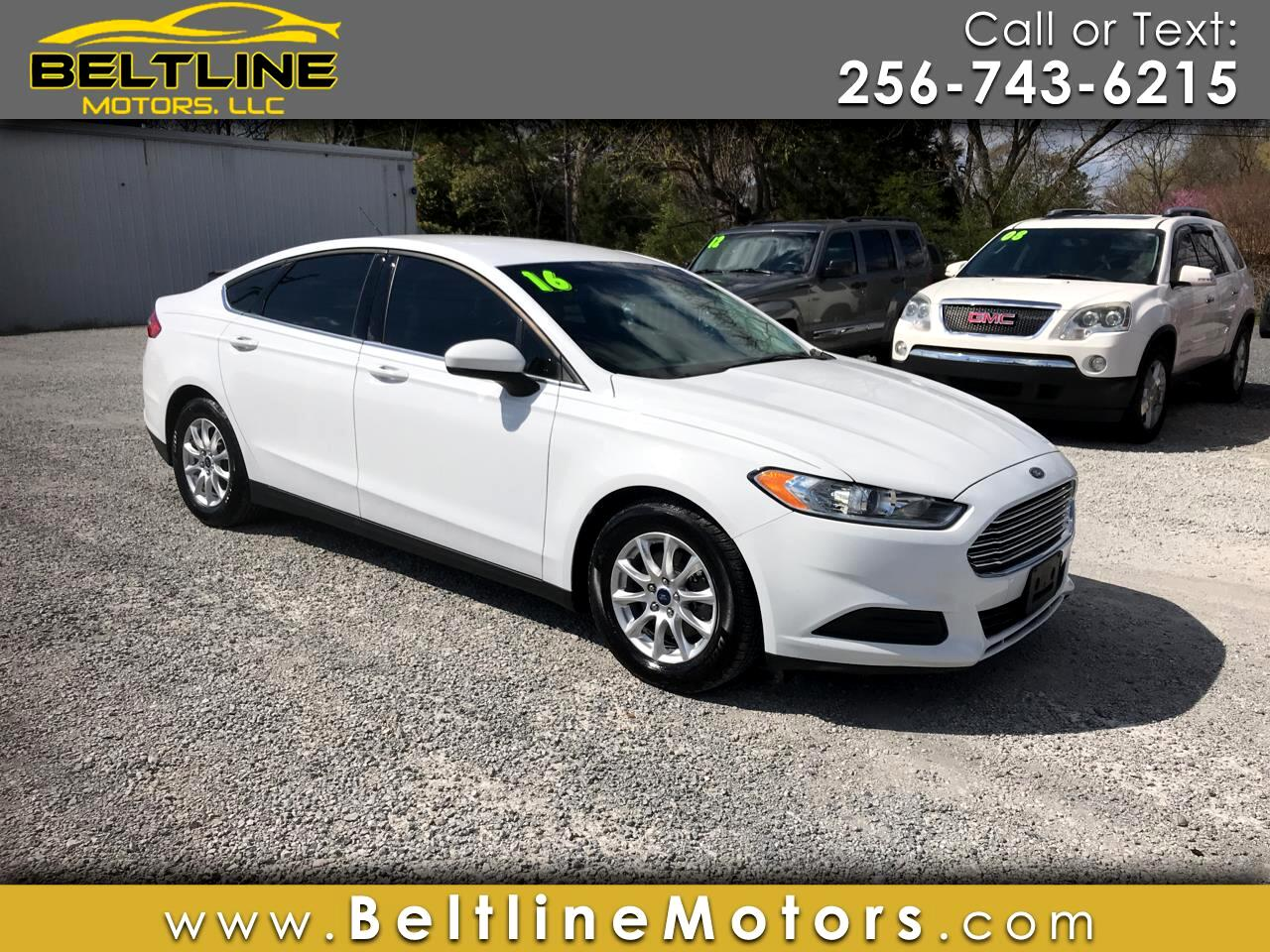 2016 Ford Fusion 4dr Sdn S FWD
