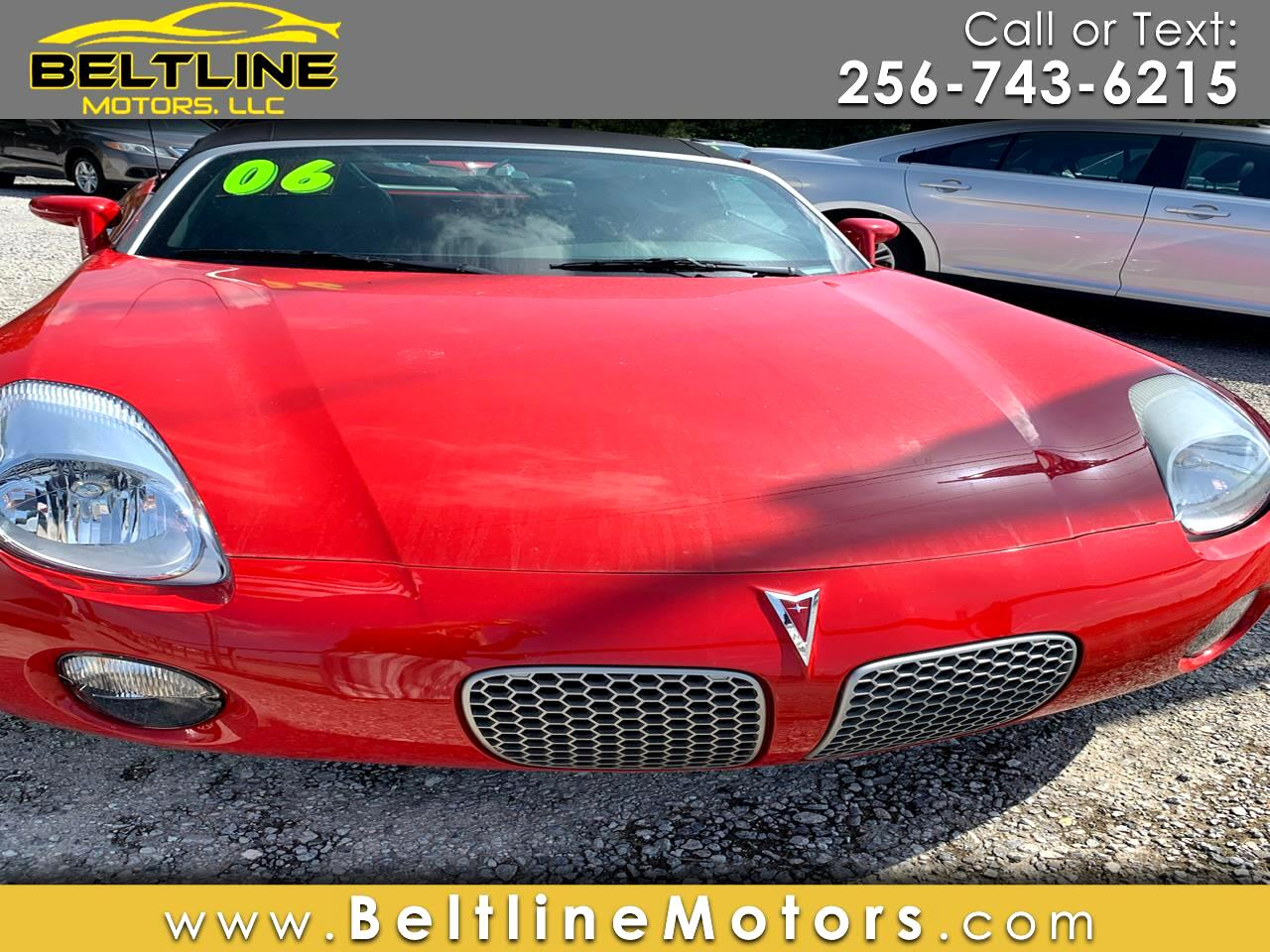 Pontiac Solstice 2dr Convertible 2006