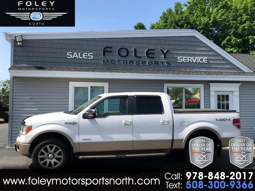 2011 Ford F-150 King-Ranch SuperCrew 5.5-ft. 4WD