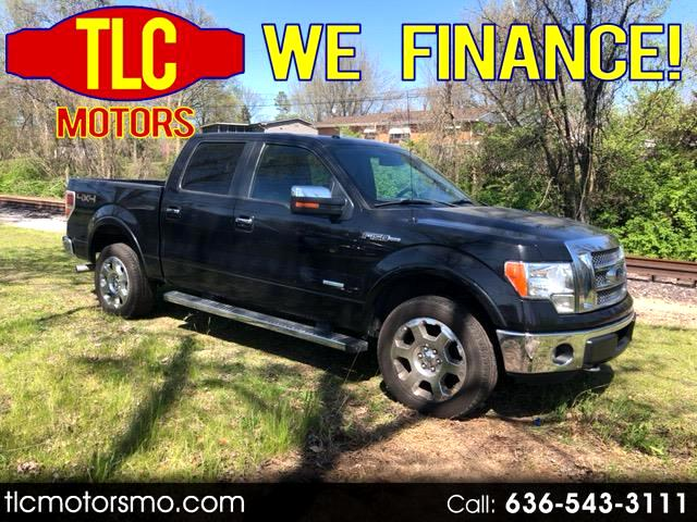 2012 Ford F-150 Lariat SuperCab 6.5-ft. 4WD
