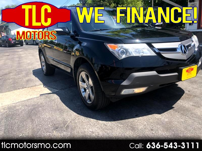 2007 Acura MDX 9-Spd AT Advance and EntertainmentB