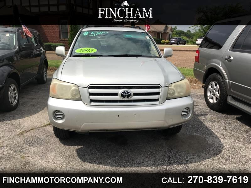 Toyota Highlander Limited V6 4WD 2005
