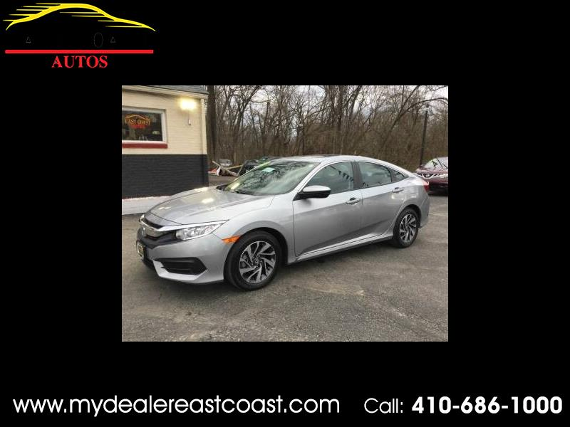 2018 Honda Civic EX Sedan CVT