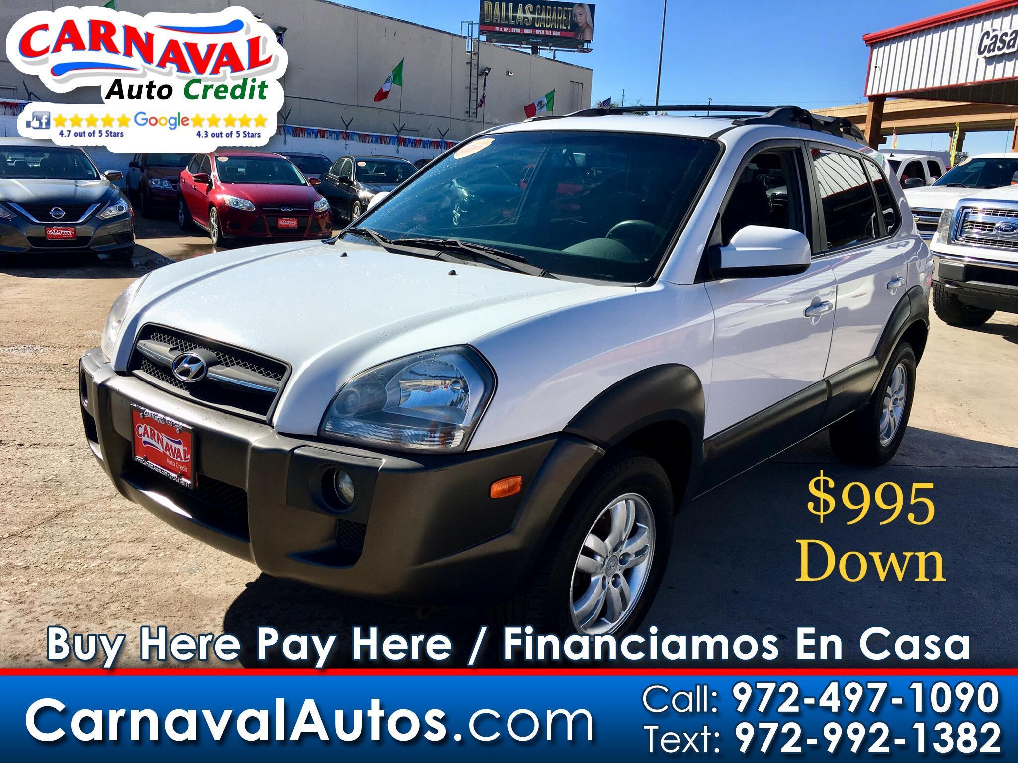 2007 Hyundai Tucson FWD 4dr Auto Limited