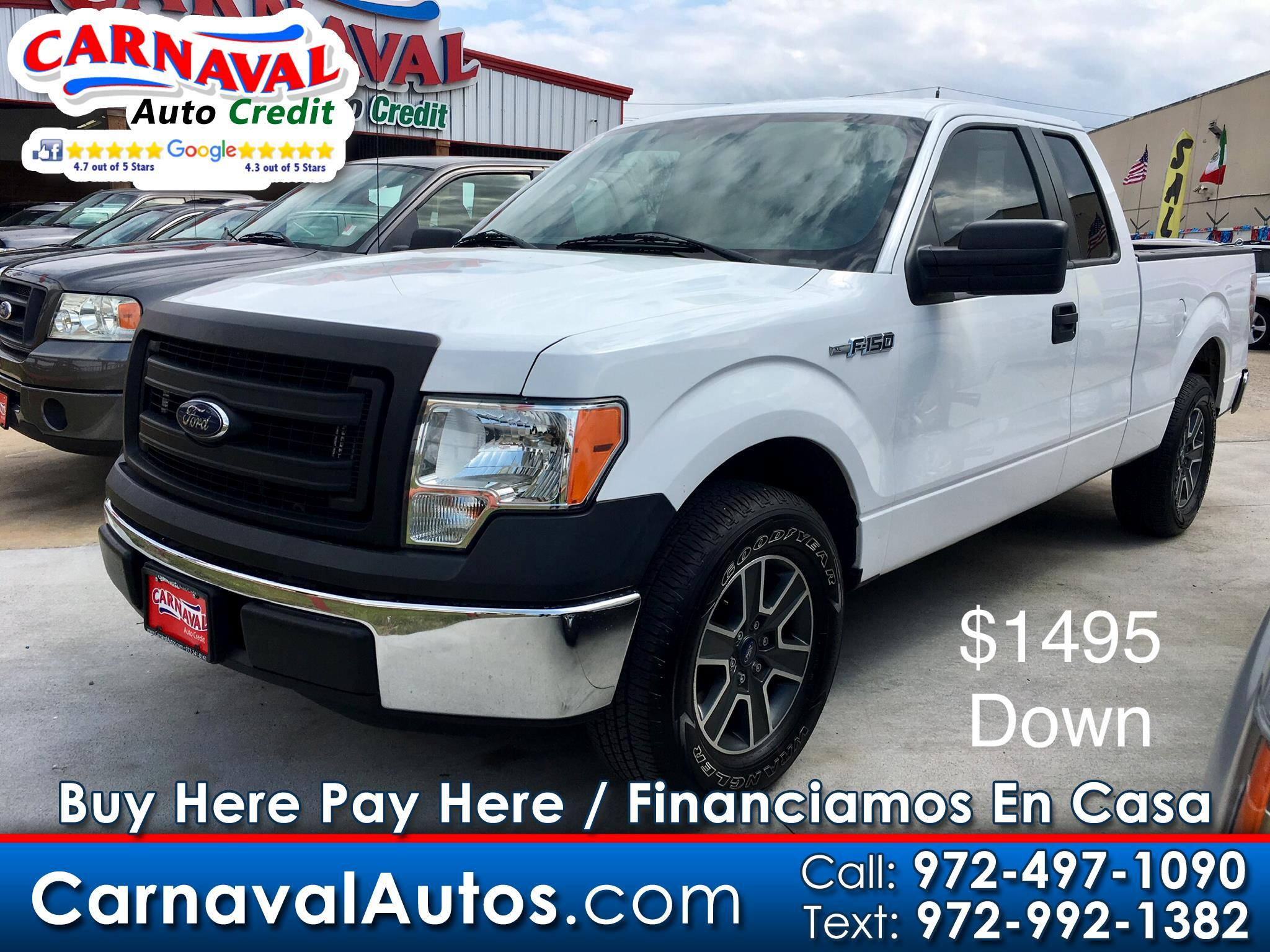 "2014 Ford F-150 2WD SuperCab 145"" Lariat"