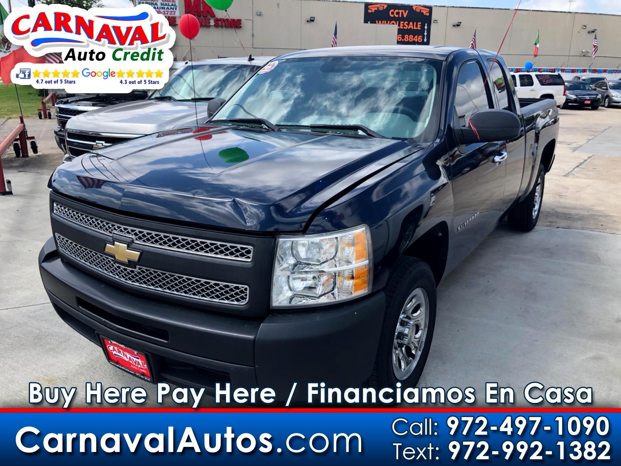 """2011 Chevrolet Silverado 1500 2WD Ext Cab 143.5"""" Work Truck"""