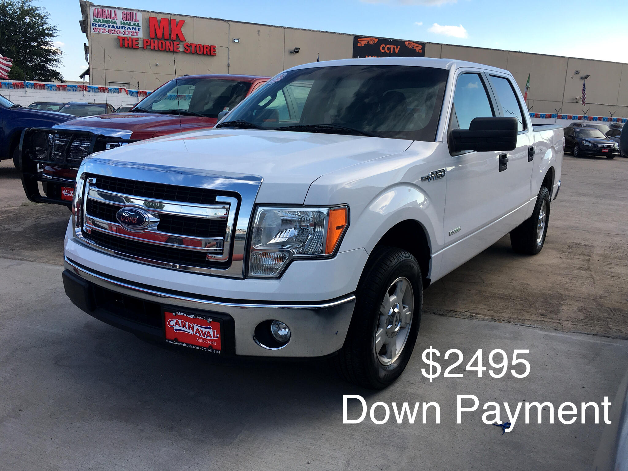 "Ford F-150 2WD SuperCrew 145"" King Ranch 2014"