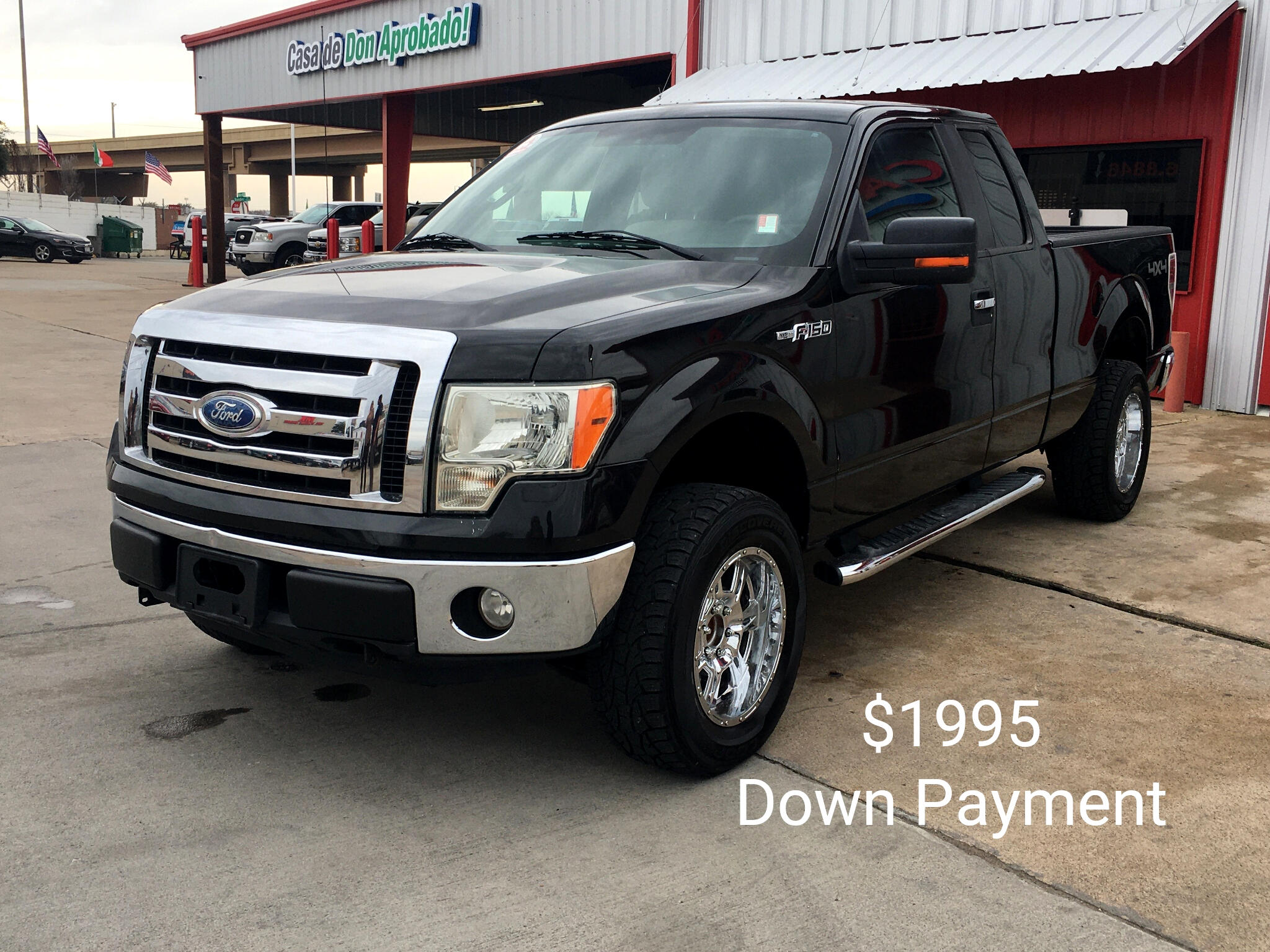 """Ford F-150 4WD SuperCab 145"""" Lariat 2010"""