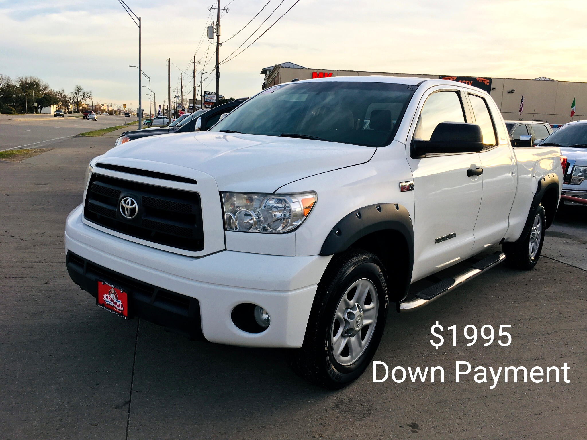 Toyota Tundra 2WD Truck Dbl 5.7L V8 6-Spd AT  (Natl) 2011