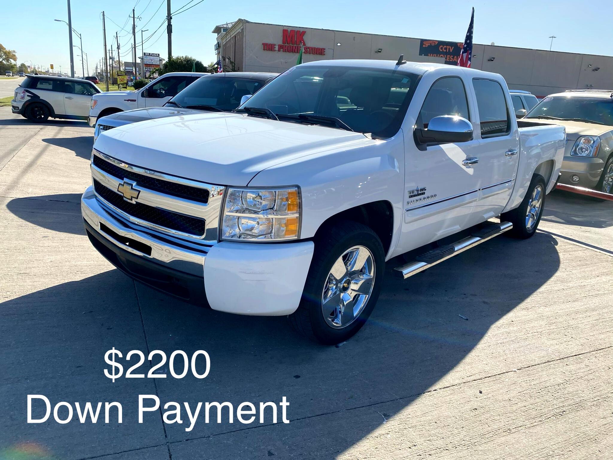 """Chevrolet Silverado 1500 2WD Crew Cab 143.5"""" LT 2010"""