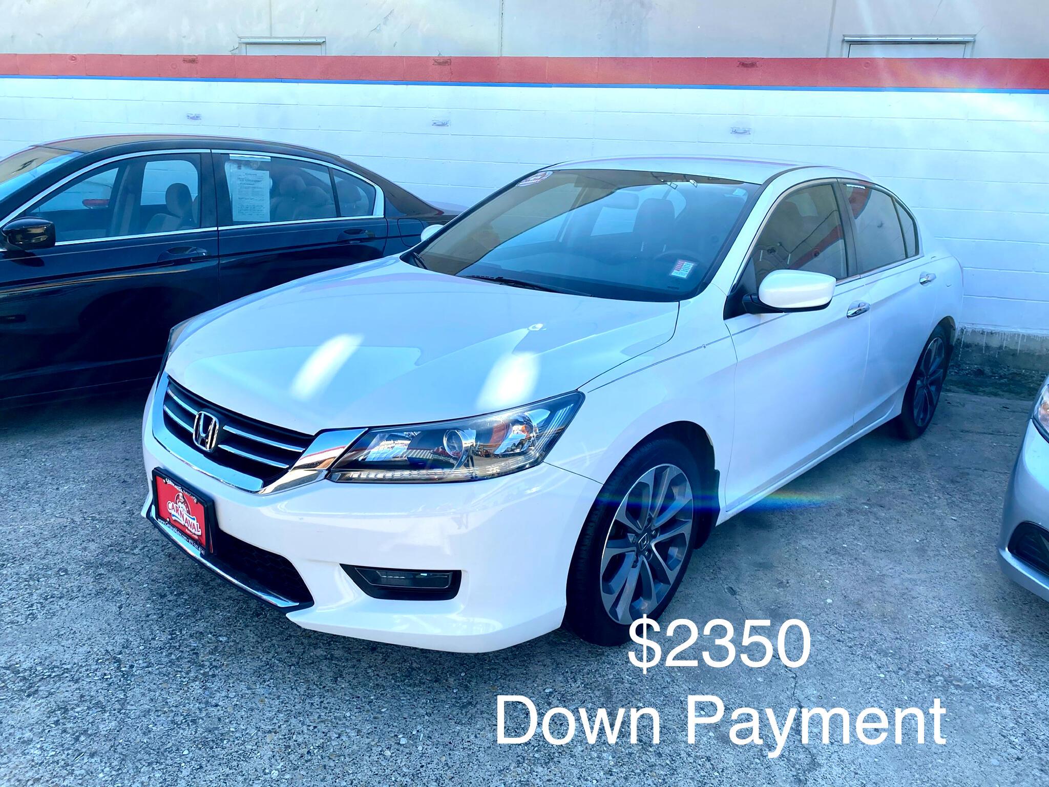 Honda Accord Sedan 4dr I4 CVT Sport 2014