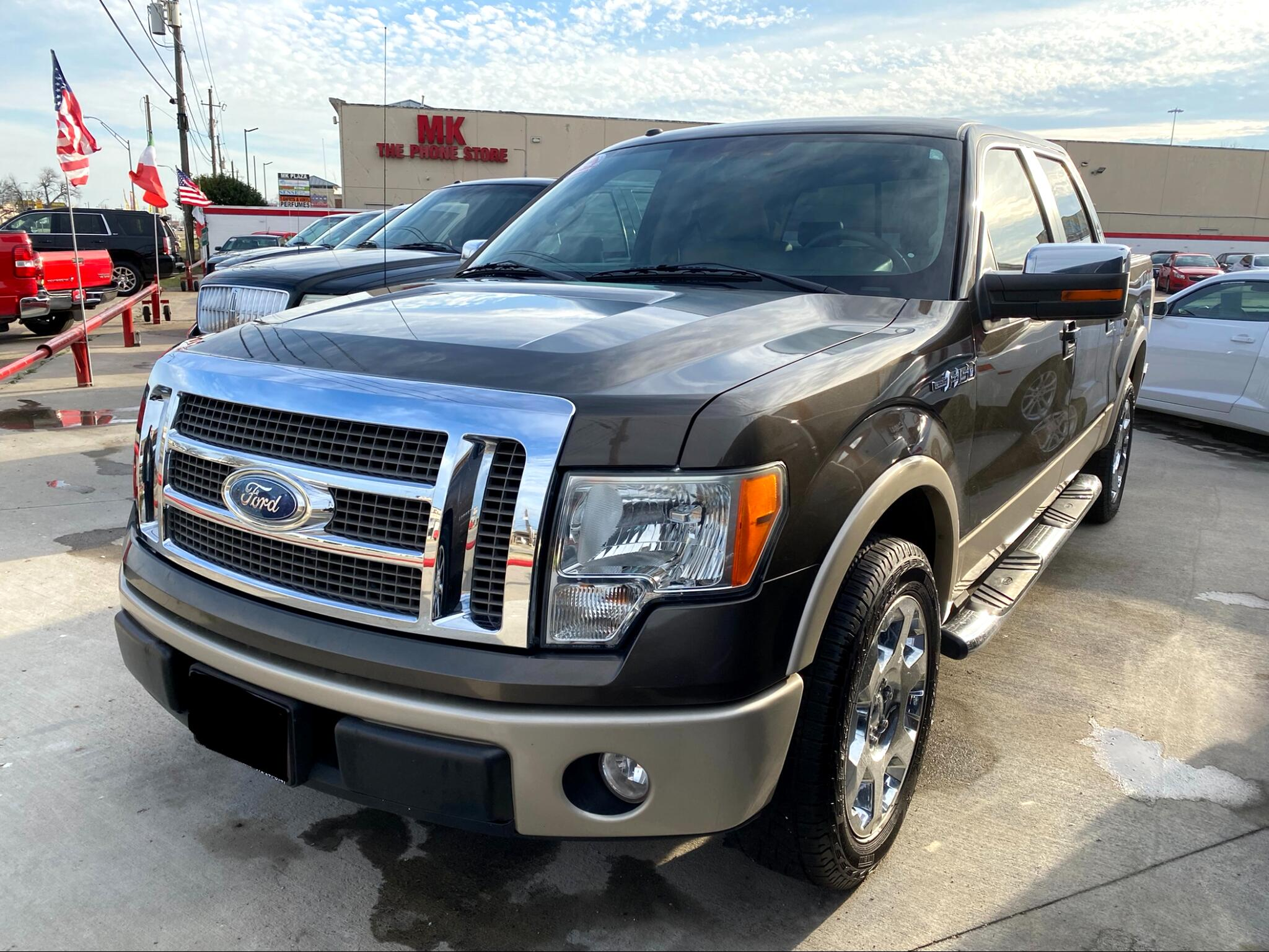 "Ford F-150 2WD SuperCrew 145"" Platinum 2009"