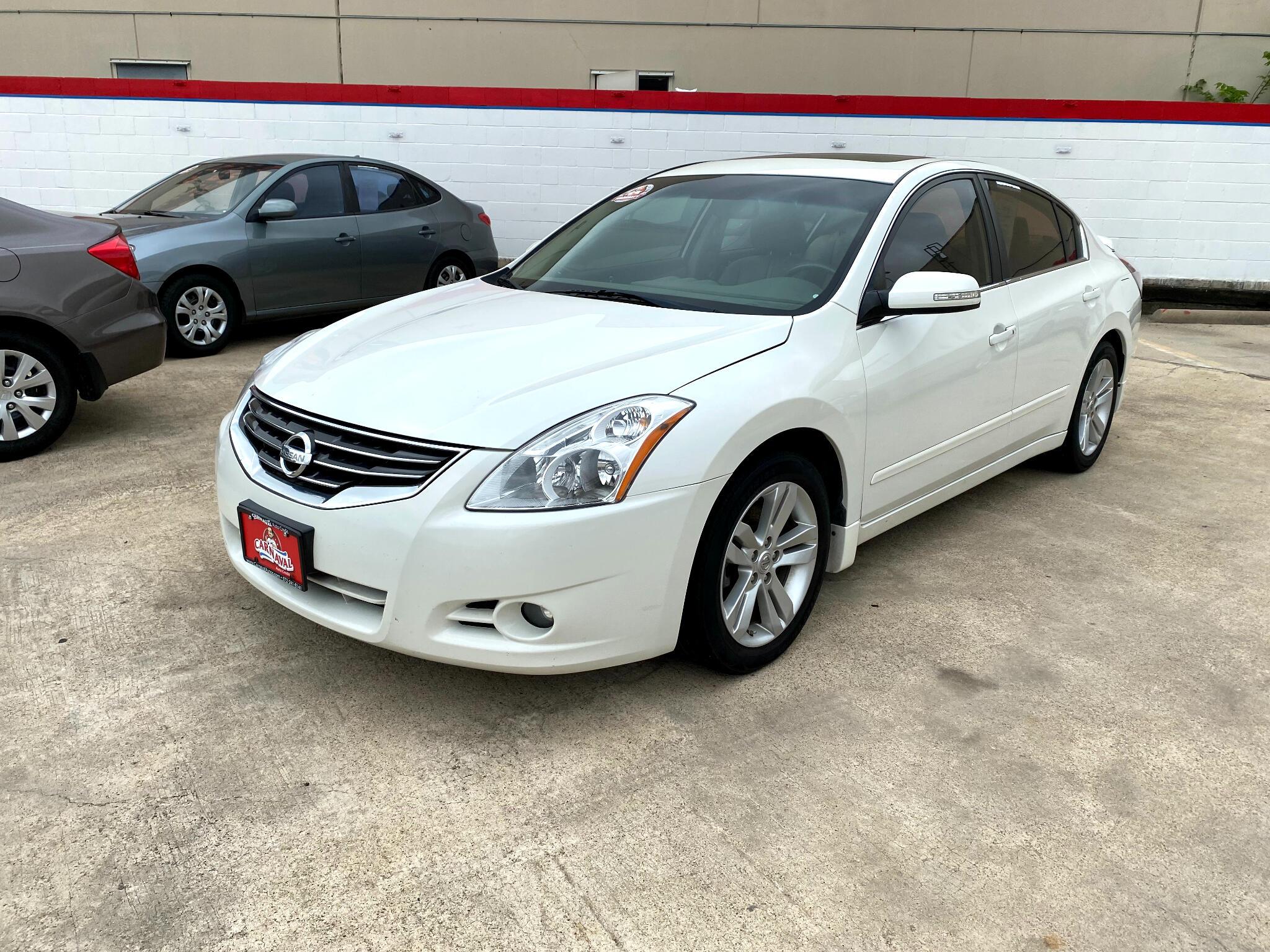 Nissan Altima 4dr Sdn V6 CVT 3.5 SR 2012
