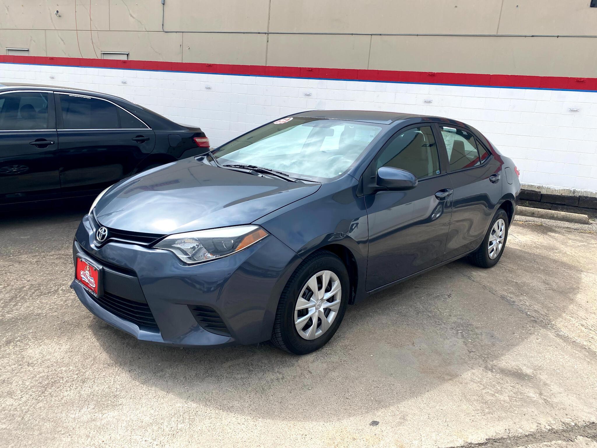 Toyota Corolla 4dr Sdn CVT LE Premium (Natl) 2015