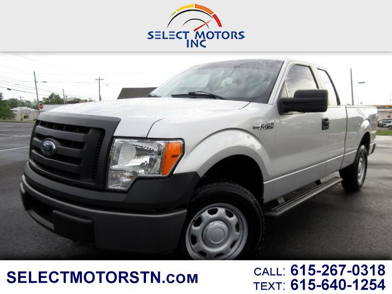 2010 Ford F-150 XL SuperCab Short Bed 2WD