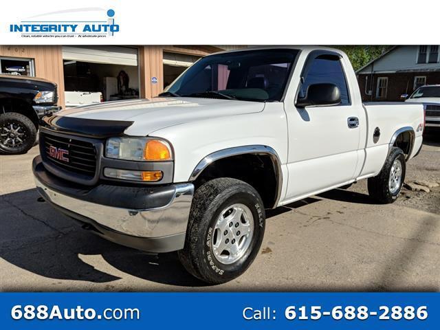 "2002 GMC Sierra 1500 4WD Reg Cab 133.0"" Work Truck"