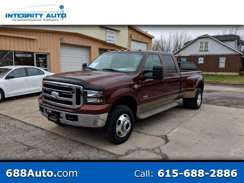 2007 Ford F-350 XL Crew Cab Long Bed DRW 4WD