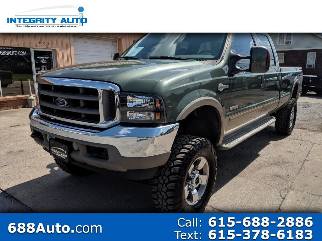 Ford F-350 SD King Ranch Crew Cab Long Bed 4WD 2004