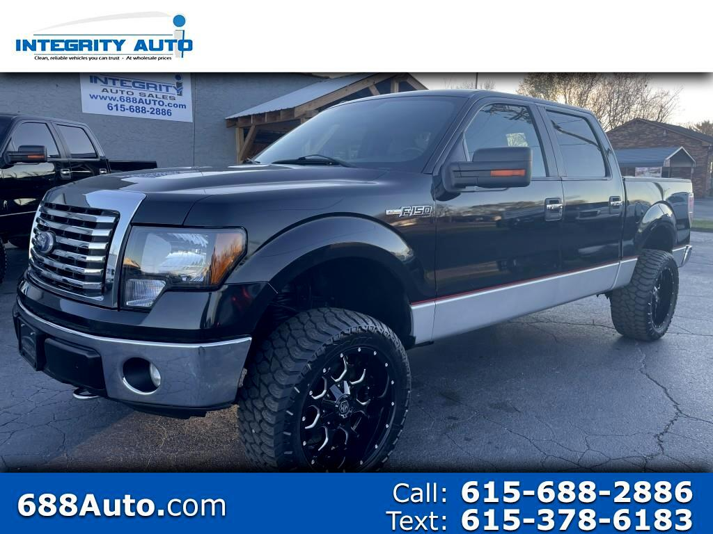 "Ford F-150 SuperCrew Crew Cab 139"" XLT 4WD 2011"