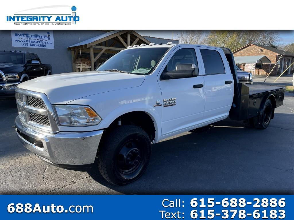 "RAM 3500 Chassis Cab Tradesman 4WD Crew Cab 60"" CA 172.4"" WB 2017"