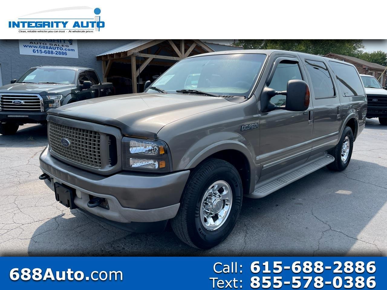 """Ford Excursion 137"""" WB 6.0L Limited 2003"""