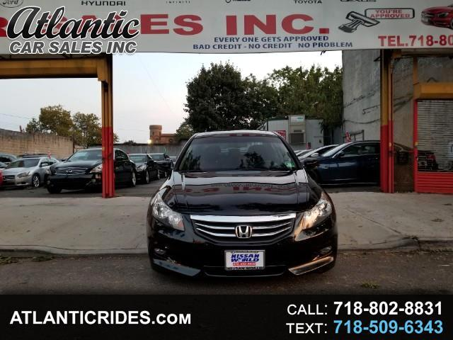 2012 Honda Accord EX-L V6 Sedan AT with Navigation