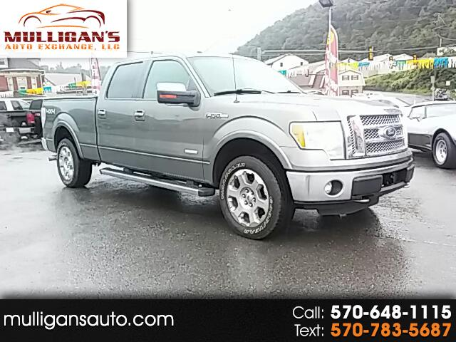 "2011 Ford F-150 4WD SuperCrew 145"" Lariat"