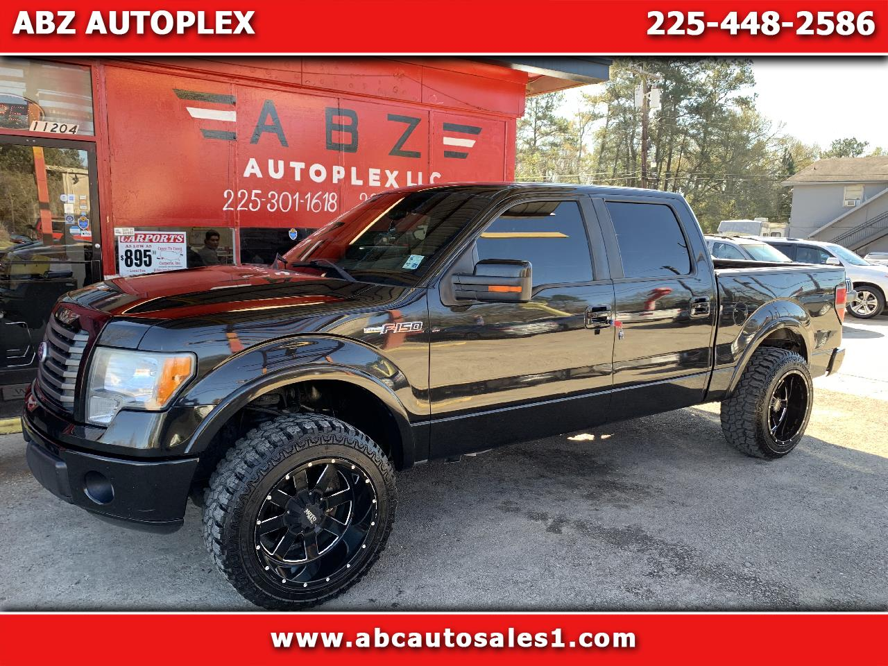 Ford F-150 FX2 SuperCrew 5.5-ft. Bed 2WD 2010