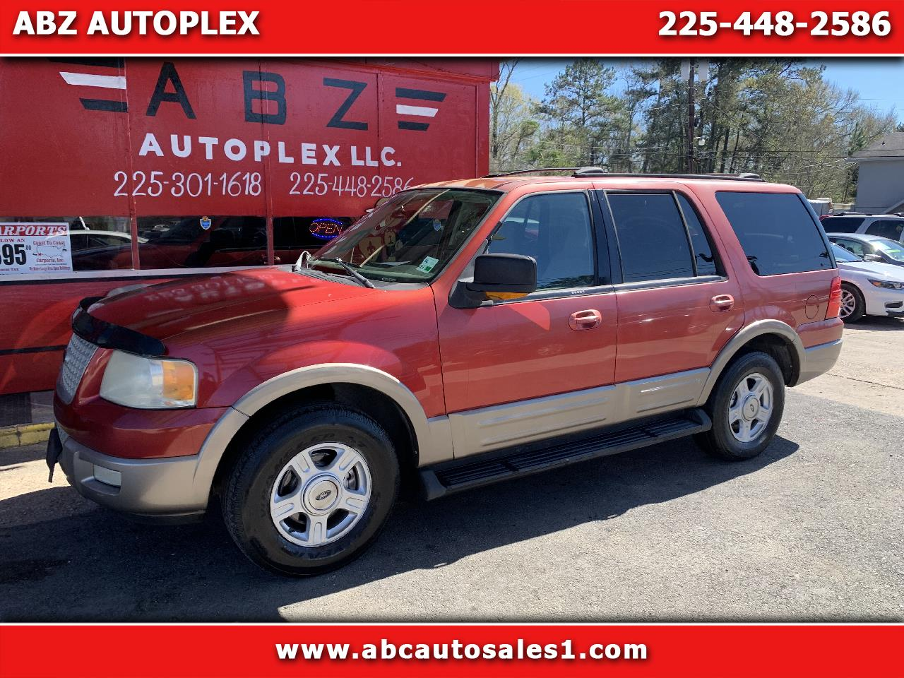 Ford Expedition 5.4L Eddie Bauer 2003