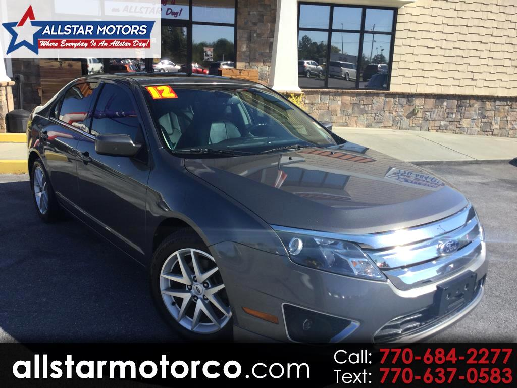 2012 Ford Fusion 4dr Sdn I4 SEL FWD