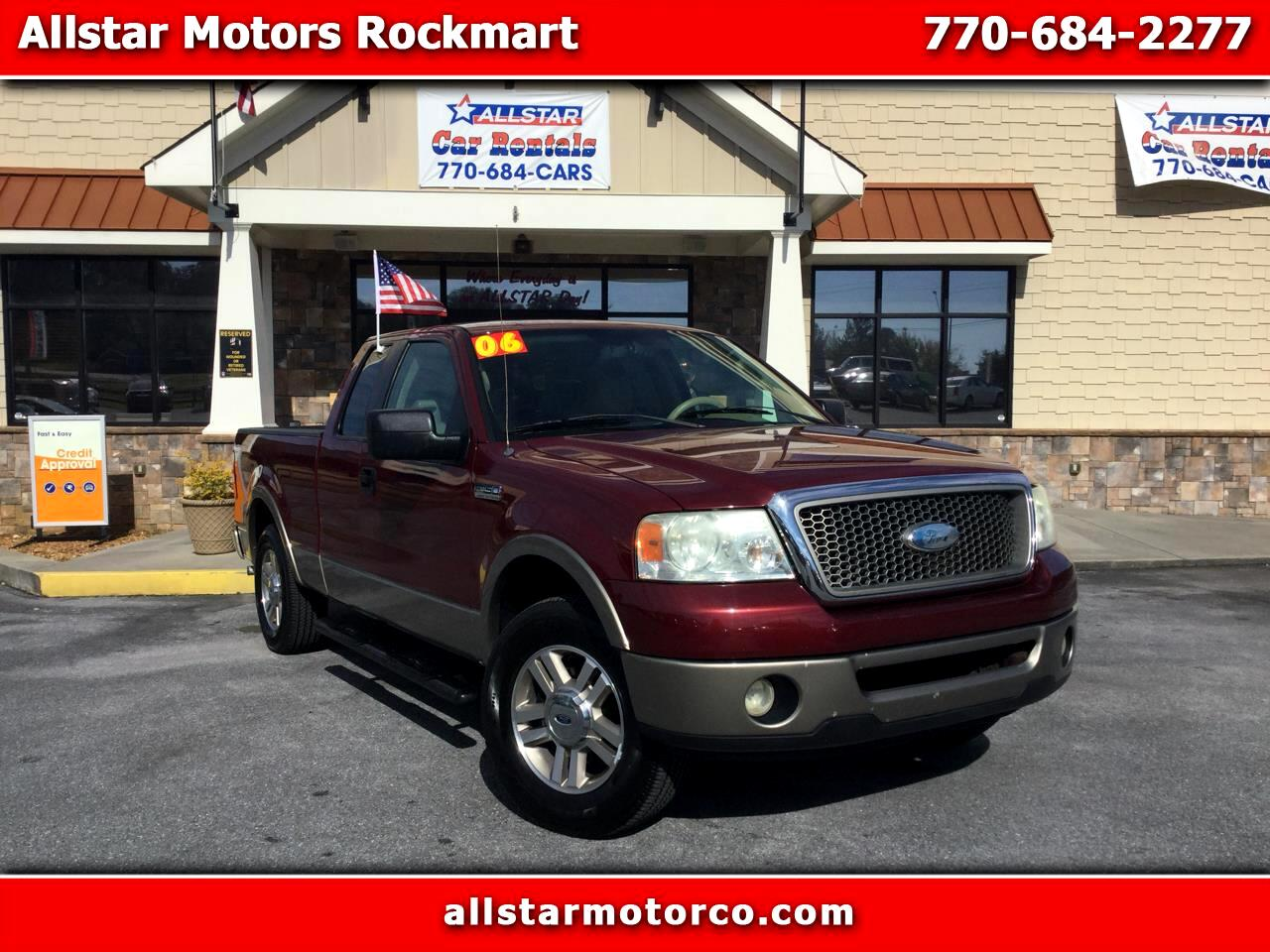 "2006 Ford F-150 Supercab 157"" Lariat"