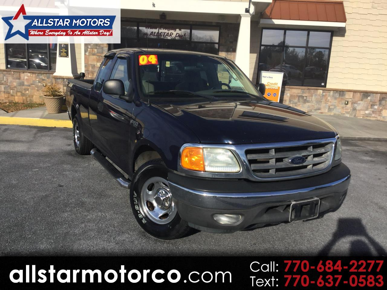 "2004 Ford F-150 Heritage Supercab 139"" XLT"