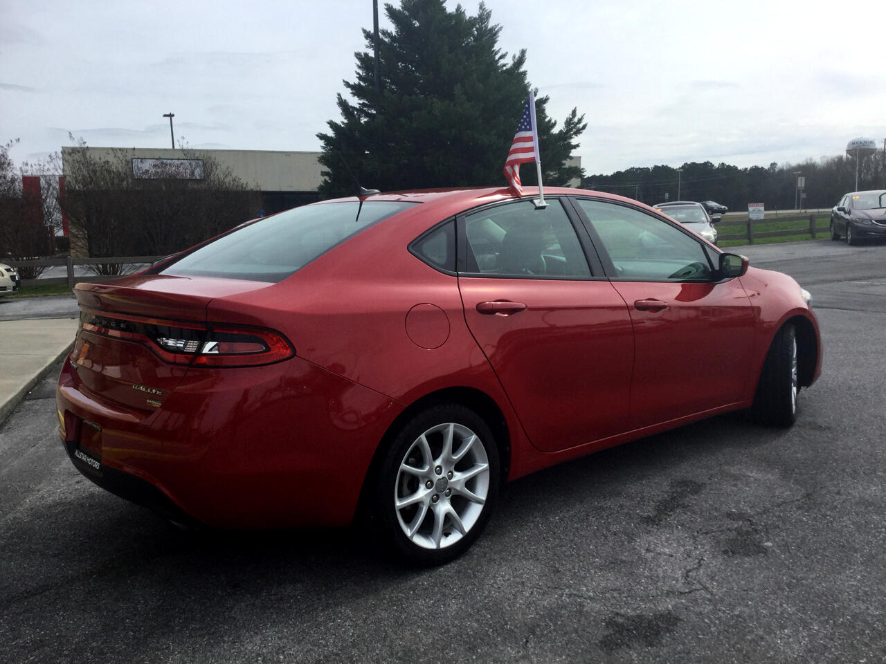 2013 Dodge Dart 4dr Sdn Turbo