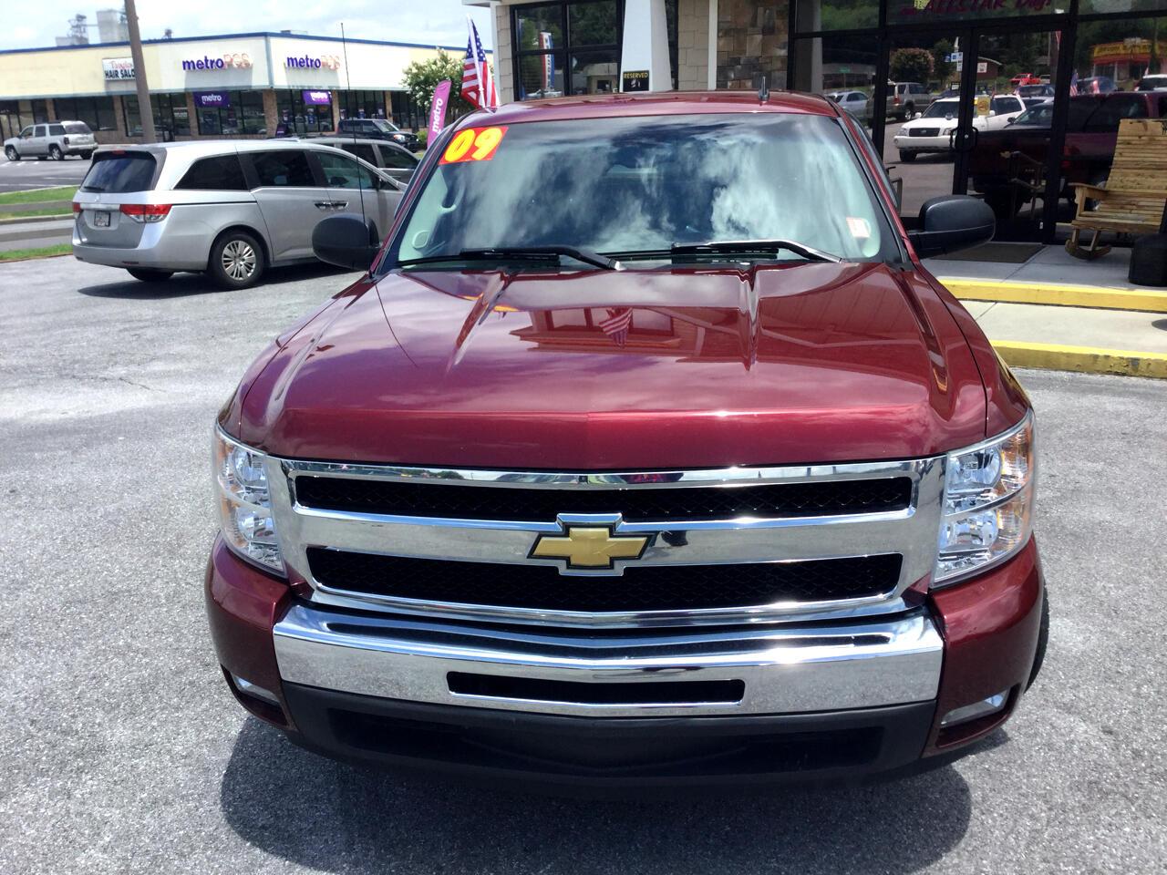 2009 Chevrolet Silverado 1500 2WD Ext Cab 143.5