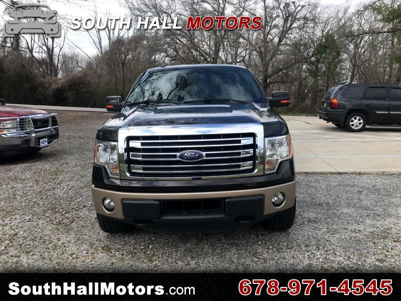 Ford F-150 Lariat SuperCrew 6.5-ft Box 4WD 2013