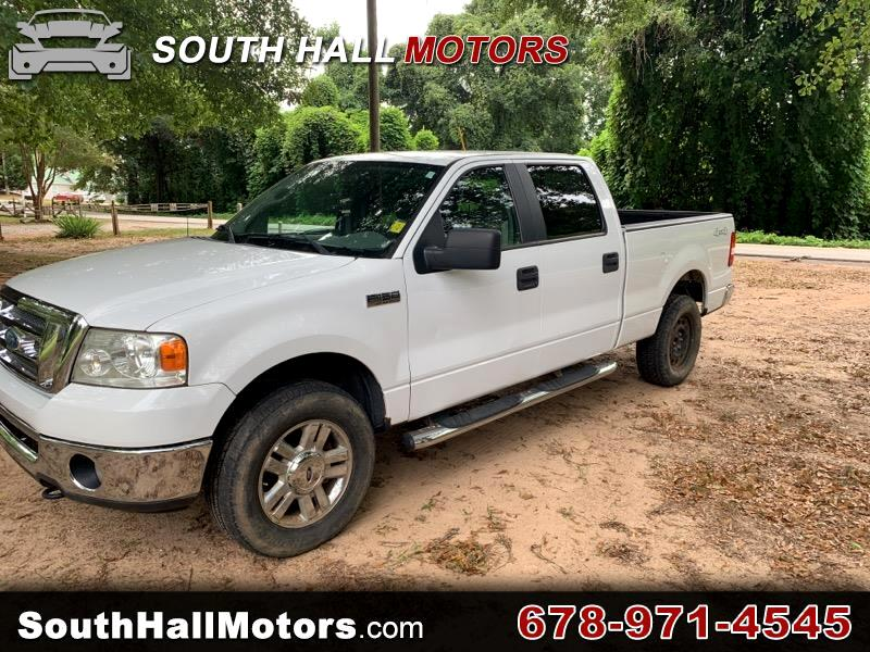"2008 Ford F-150 4WD SuperCab 145"" XLT"