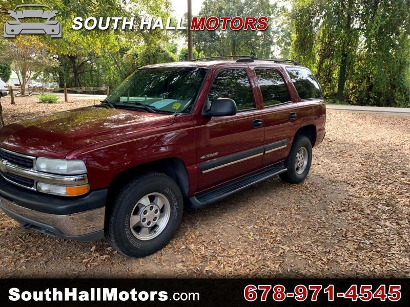 Chevrolet Tahoe 4-Door 4WD 2001