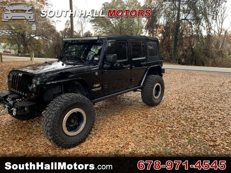 Jeep Wrangler Sahara 4WD 2013