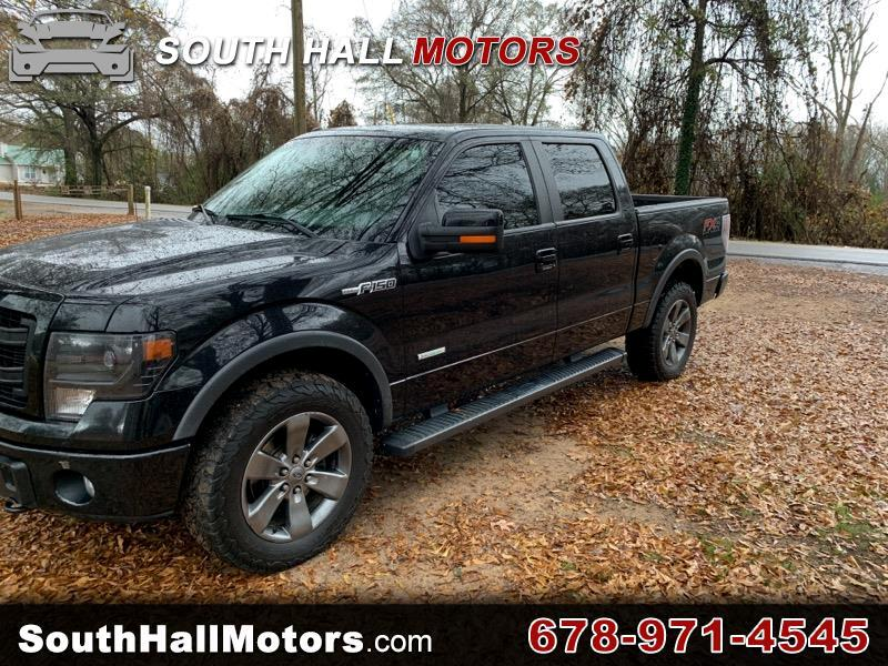 """Ford F-150 SuperCrew 139"""" FX4 4WD 2013"""