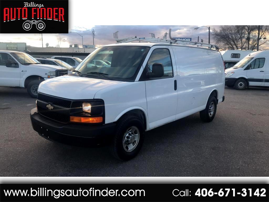 """2010 Chevrolet Express Cargo Van RWD 2500 135"""""""